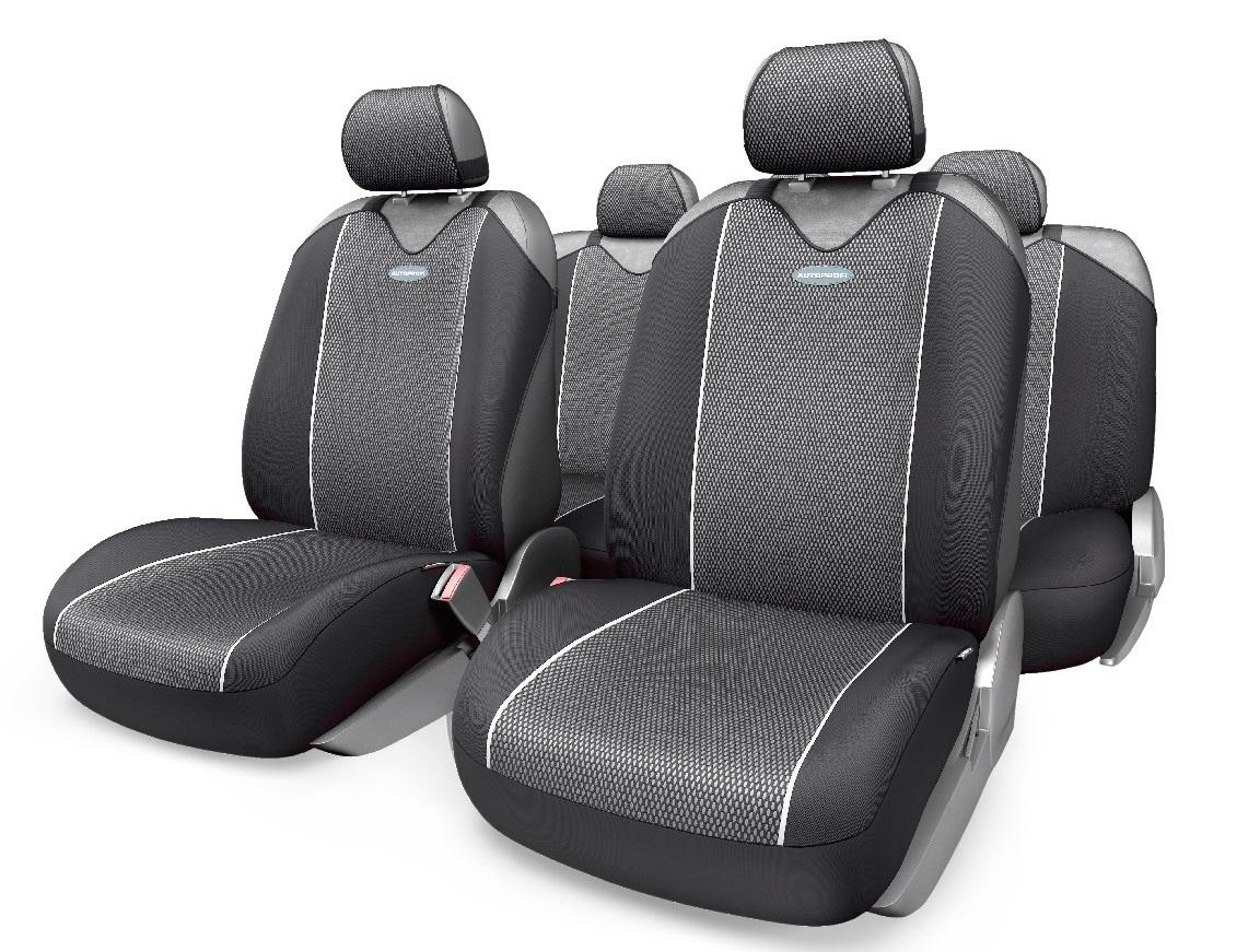 Чехол на сиденье Autoprofi Crb-902p bk/gy чехол на сиденье autoprofi mtx 1105 bk d gy m