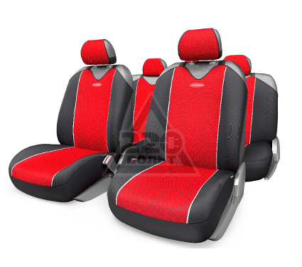 Чехол на сиденье AUTOPROFI CRB-902P BK/RD