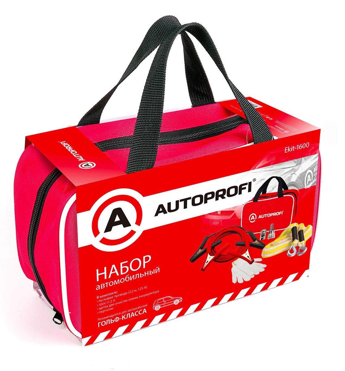 Набор Autoprofi Ekit-1600 автомобильный набор