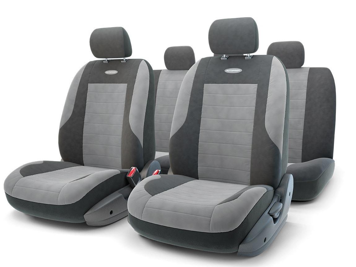 Чехол на сиденье Autoprofi Evo-1105 bk/d.gy (М) чехол на сиденье autoprofi evo 1105 bk rd м