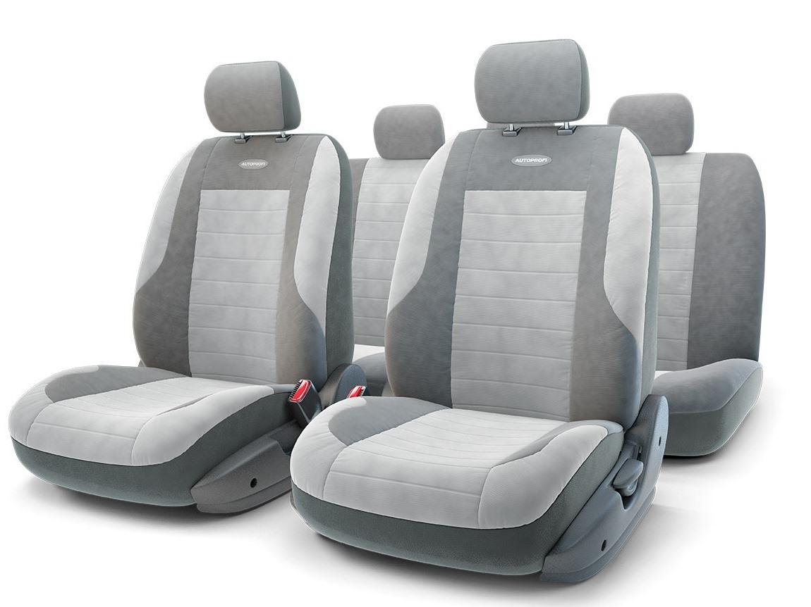 Чехол на сиденье Autoprofi Cmb-1105 bk/bl (М)