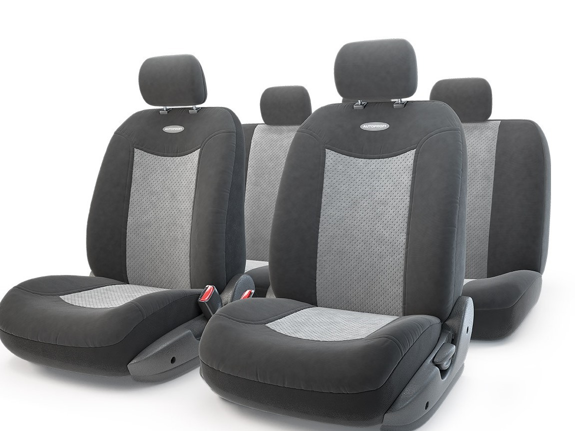 Чехол на сиденье Autoprofi Exp-1105 bk/d.gy (М) чехол на сиденье autoprofi mtx 1105 bk d gy m