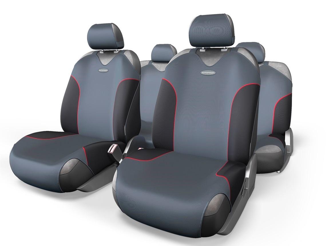 Чехол на сиденье Autoprofi For-802 bk/d.gy