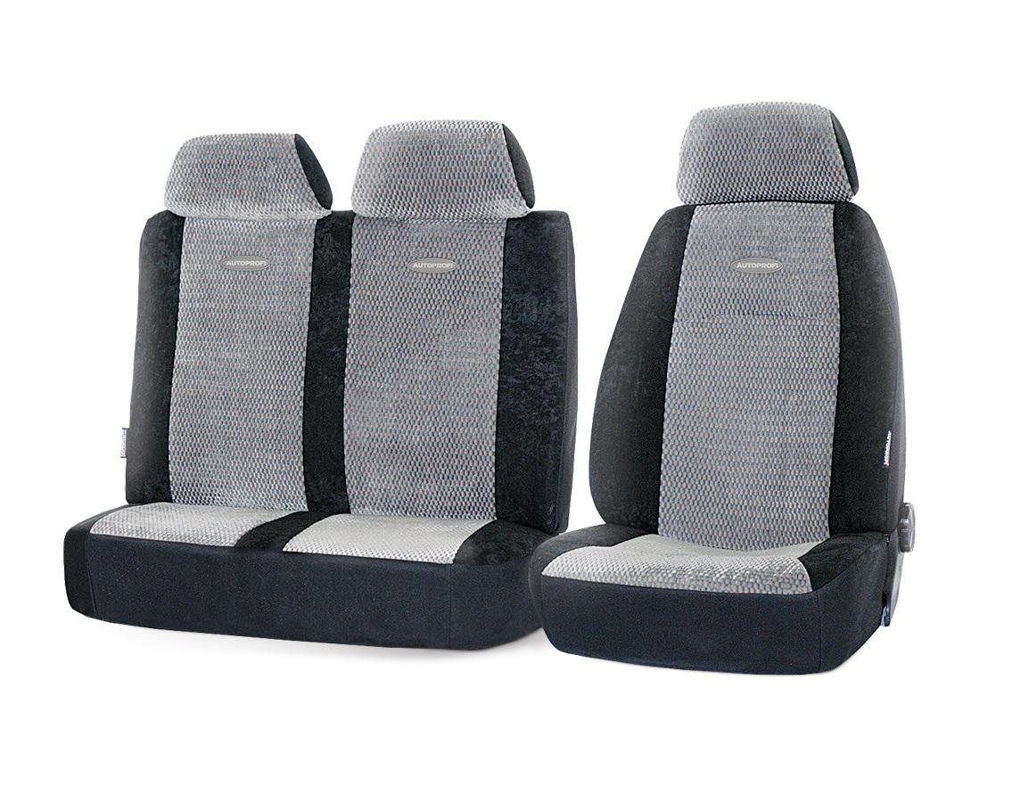 Чехол на сиденье Autoprofi Gaz-002 bk/gy чехол на сиденье autoprofi mtx 1105 bk d gy m