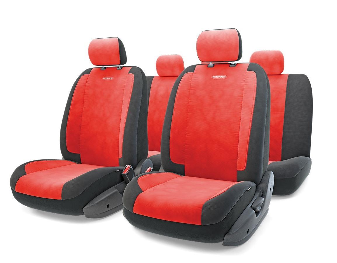 Чехол на сиденье Autoprofi Gen-1105 bk/rd (М) оплетка autoprofi sam 100 bk rd m