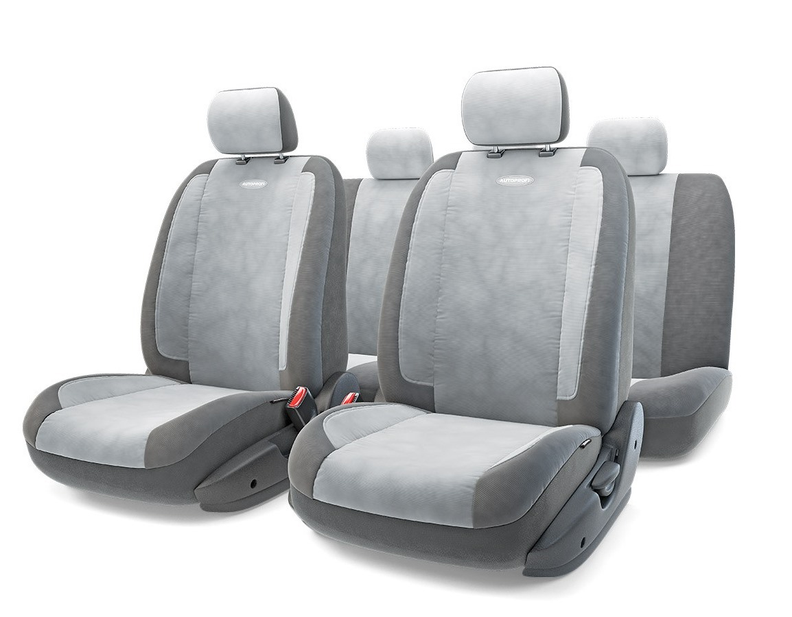 Чехол на сиденье Autoprofi Gen-1105 d.gy/l.gy(М) чехол на сиденье autoprofi mtx 1105 bk d gy m