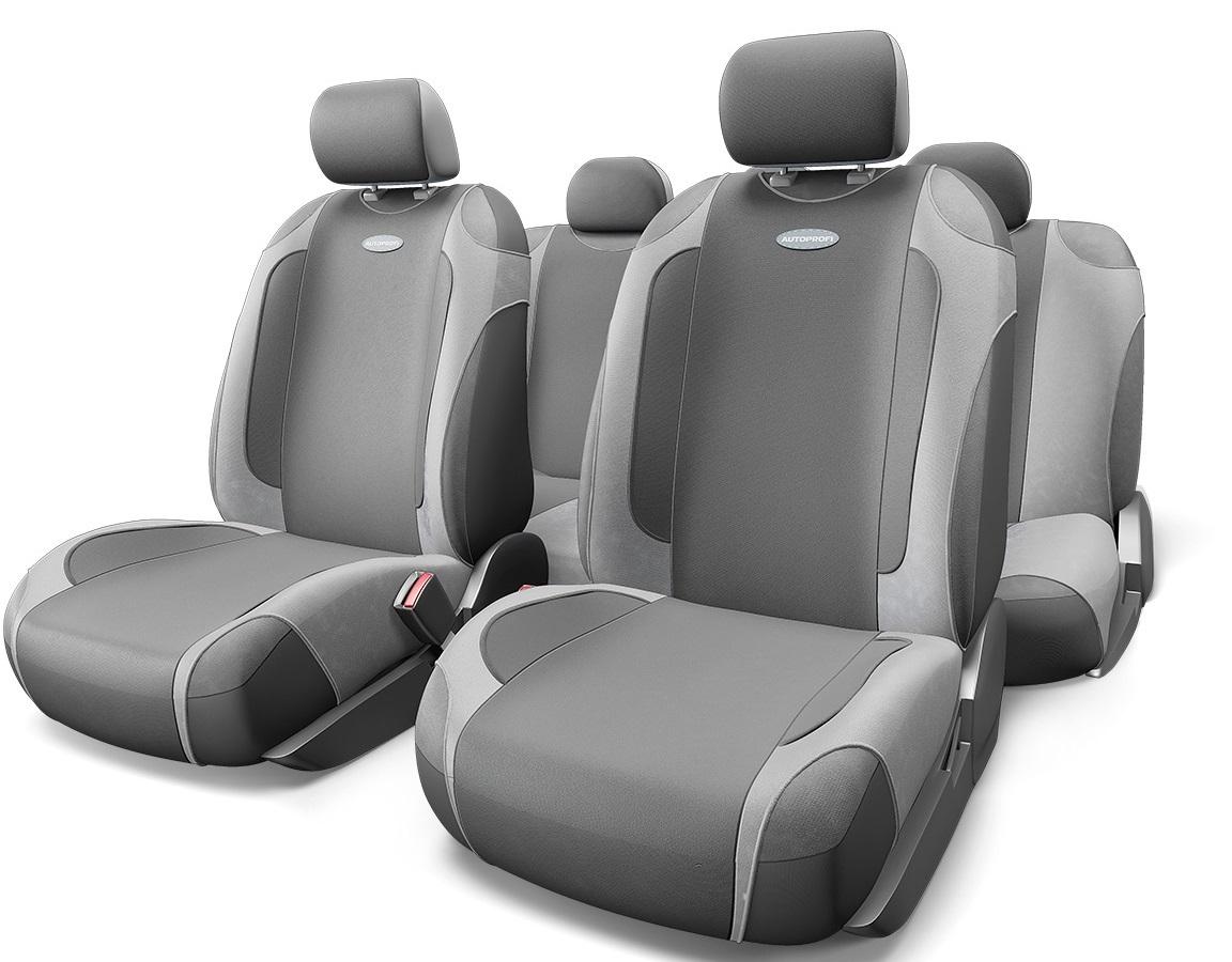 Чехол на сиденье Autoprofi Gen-805t d.gy/l.gy чехол на сиденье autoprofi gob 1105 gy line m