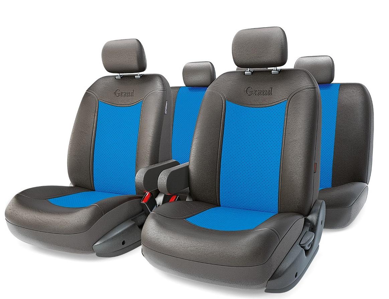 Чехол на сиденье Autoprofi Gnd-1305gf bk/bl