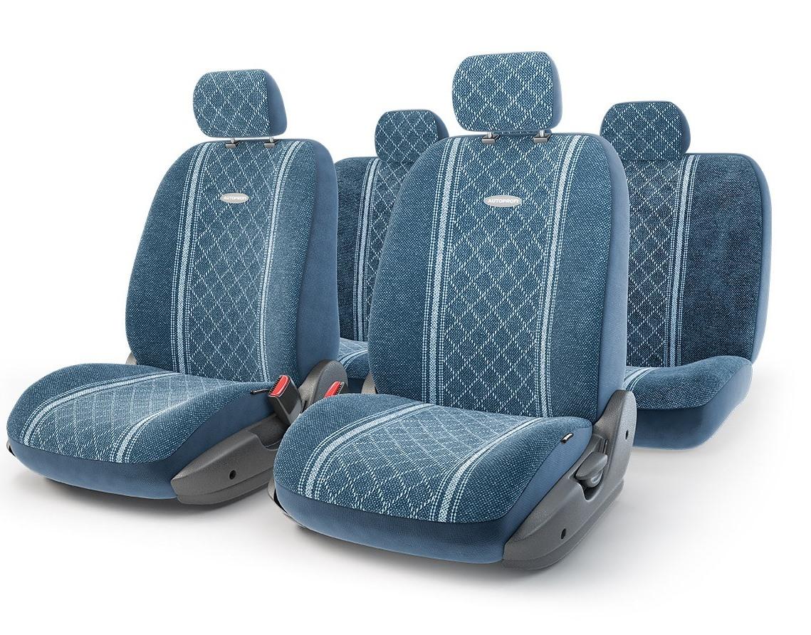 Чехол на сиденье Autoprofi Gob-1105 bl/romb (m) чехол на сиденье autoprofi mtx 1105 bk d gy m