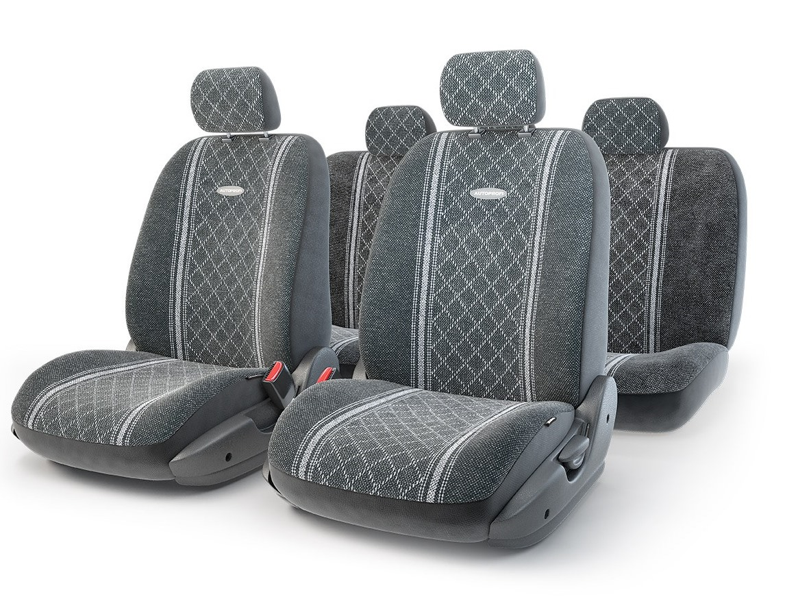 Чехол на сиденье Autoprofi Gob-1105 gy/romb (m) чехол autoprofi extra comfort black dark grey eco 1105 bk d gy m
