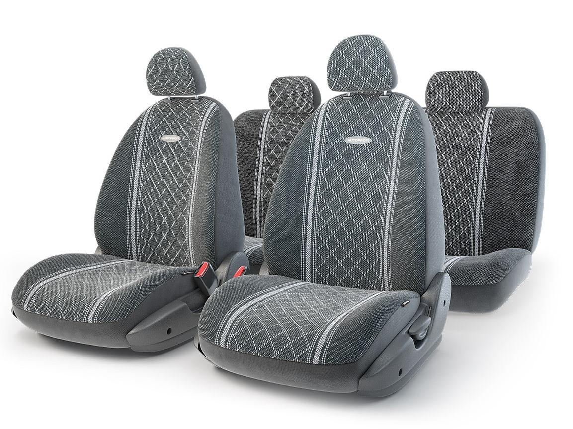 Чехол на сиденье Autoprofi Gob-1105 gy/romb (s)