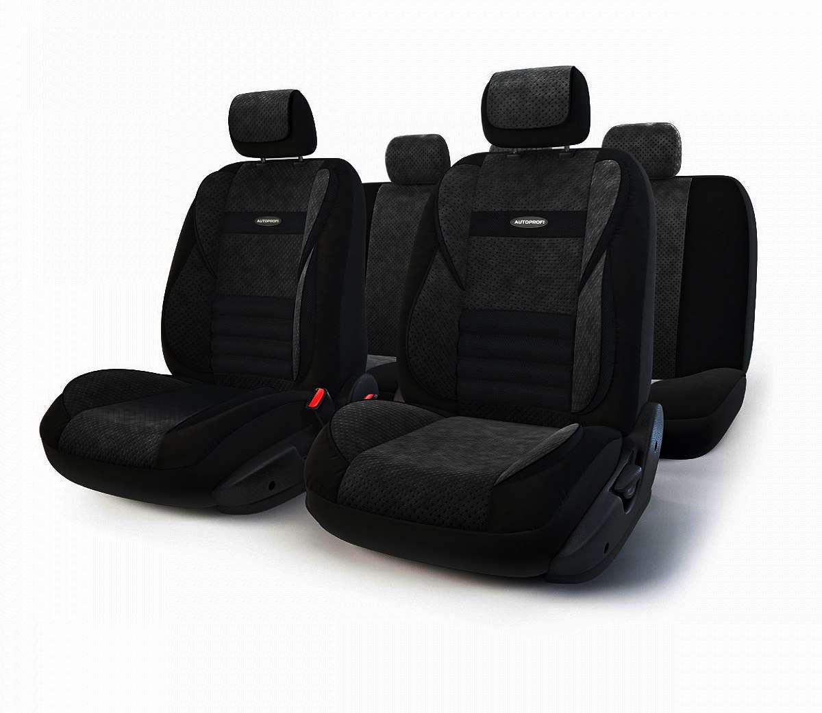Чехол на сиденье Autoprofi Mlt-1105 bk/bk (m) чехол на сиденье autoprofi mtx 1105 bk d gy m
