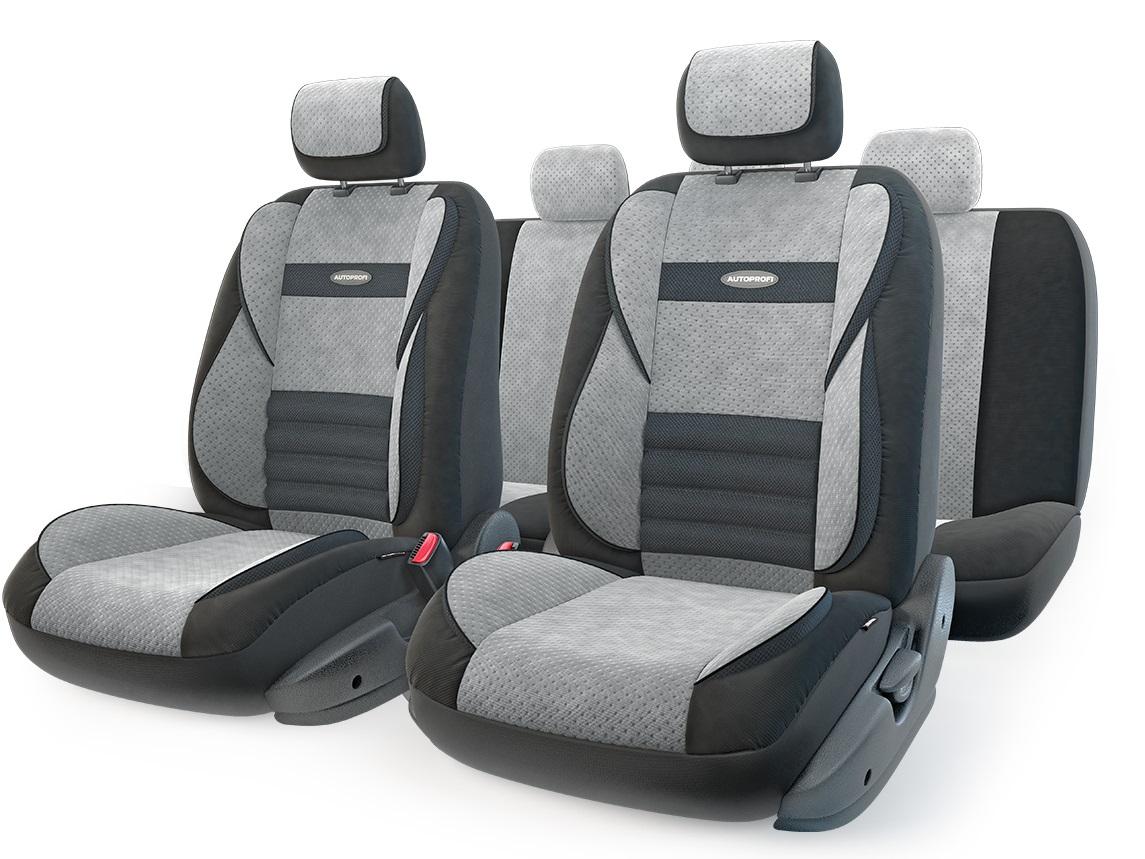 Чехол на сиденье Autoprofi Mlt-1105 bk/d.gy (m) чехол на сиденье autoprofi gob 1105 gy romb m