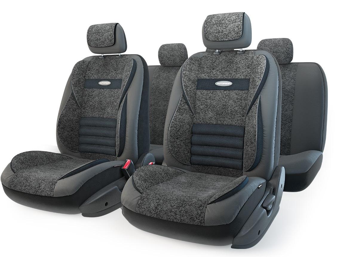 Чехол на сиденье Autoprofi Mlt-1105gv bk/bk (m) чехол на сиденье autoprofi mtx 1105 bk d gy m