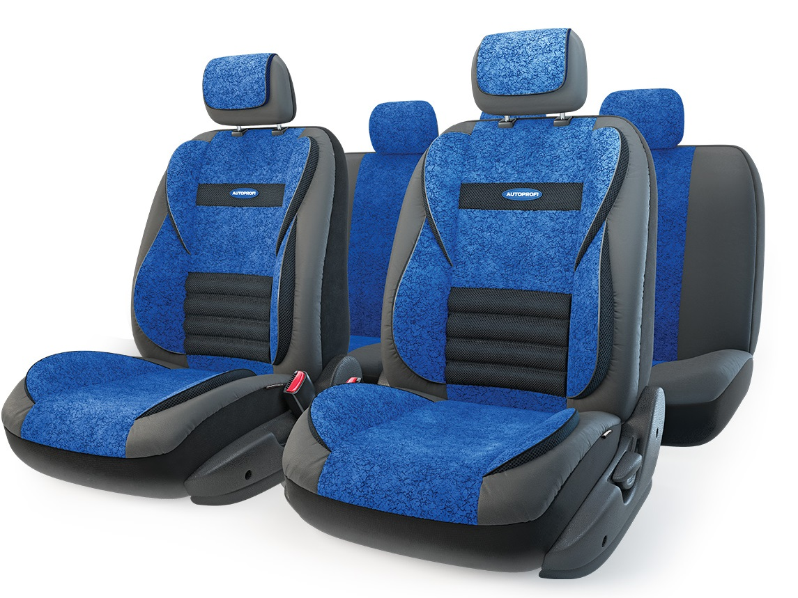 Чехол на сиденье Autoprofi Mlt-1105gv bk/bl (m) чехол на сиденье autoprofi eco 1105 bk bl м