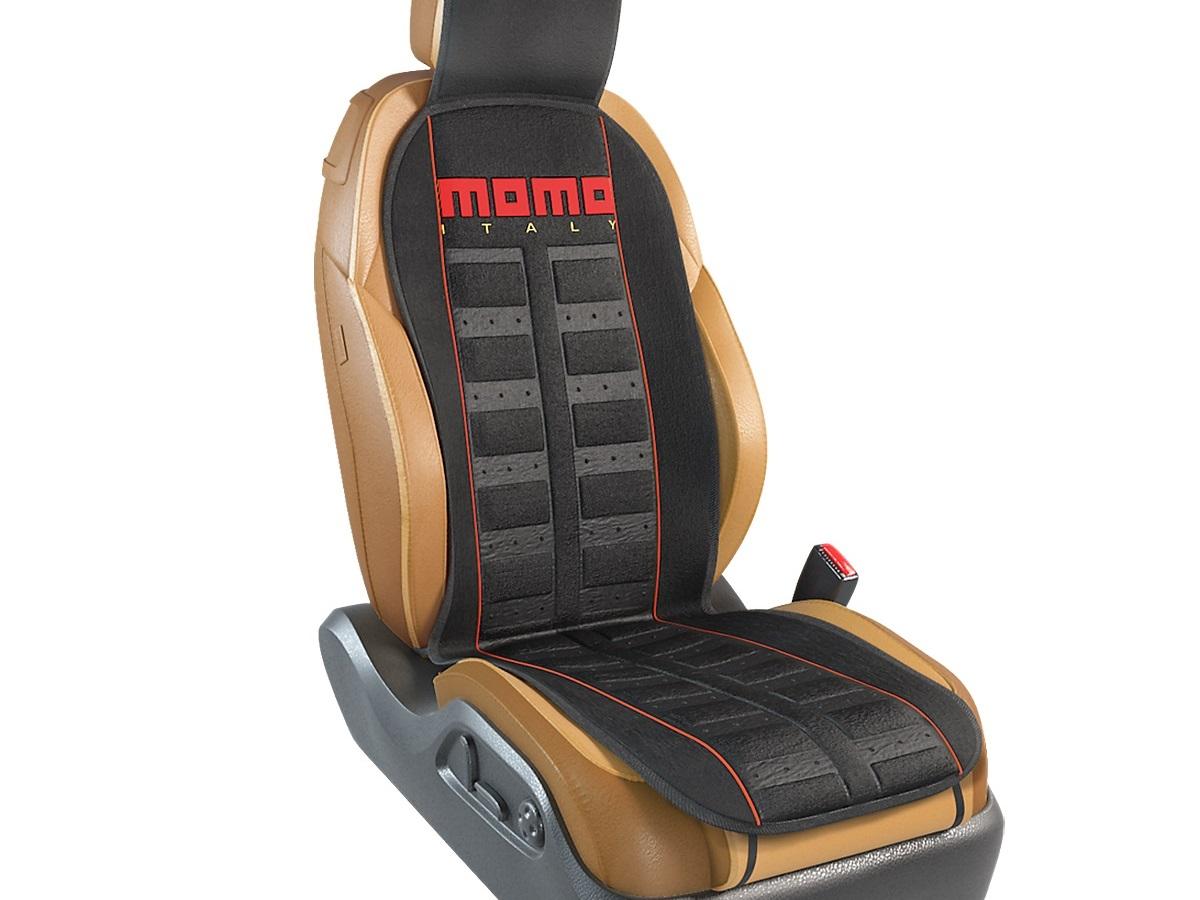Накидка Momo Momo-101 bk/rd чехол на сиденье autoprofi mtx 1105 bk rd m