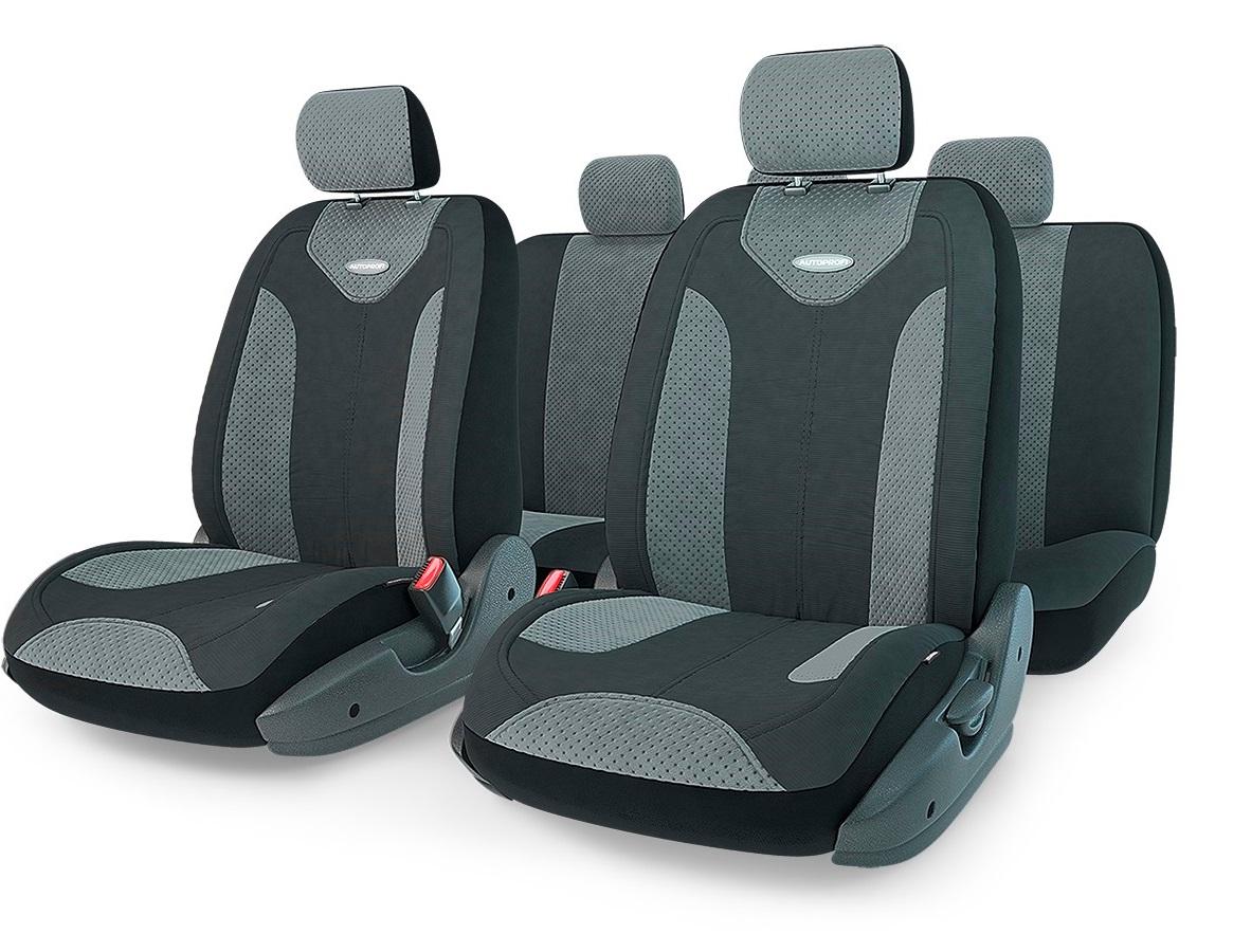 Чехол на сиденье Autoprofi Mtx-1105 bk/d.gy (m) чехол на сиденье autoprofi eco 1105 bk bl м