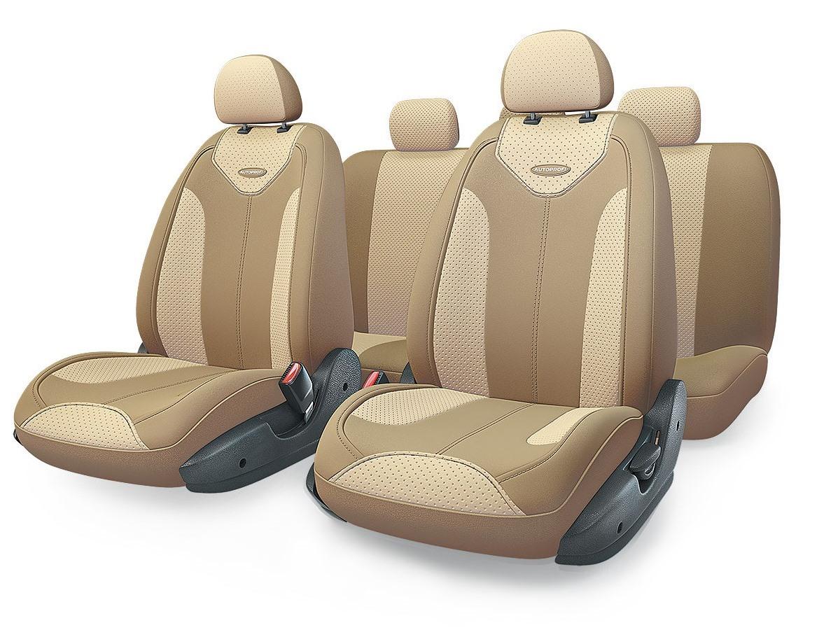Чехол на сиденье Autoprofi Mtx-1105g d.be/l.be (s) авточехлы autoprofi matrix искусственная кожа 11 предметов темно серый светло серый размер м mtx 1105g d gy l gy m
