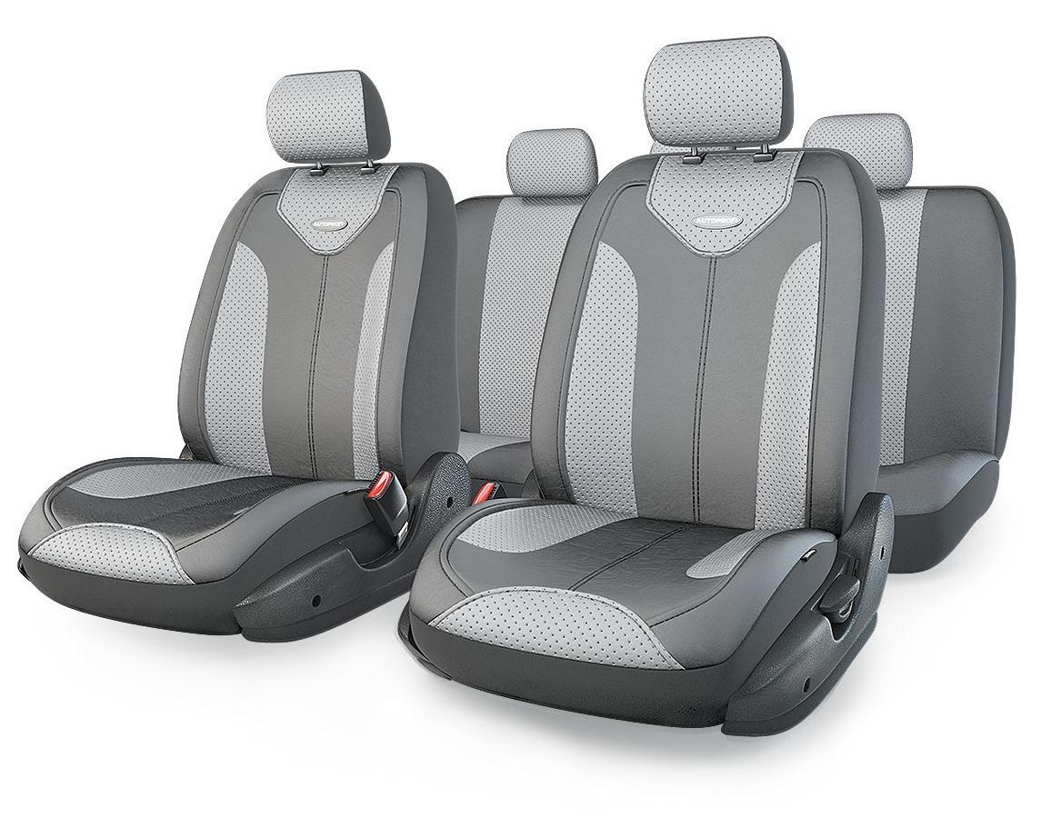 Чехол на сиденье Autoprofi Mtx-1105g d.gy/l.gy (m) чехол на сиденье autoprofi gob 1105 bl romb m