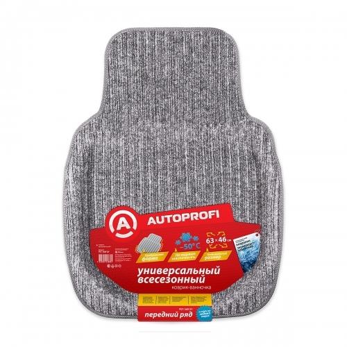 Коврики автомобильные Autoprofi Pet-160f gy чехол на сиденье autoprofi gob 1105 gy line m