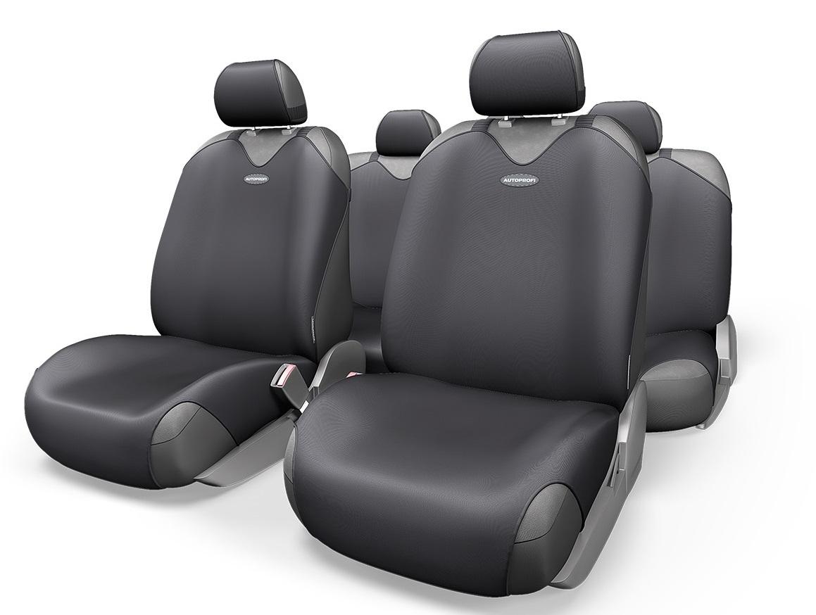 Чехол на сиденье Autoprofi R-802 bk чехлы на сиденье autoprofi r 1 sport plus black r 902p bk