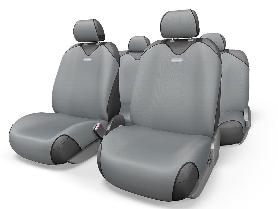 Чехол на сиденье Autoprofi R-802 d.gy