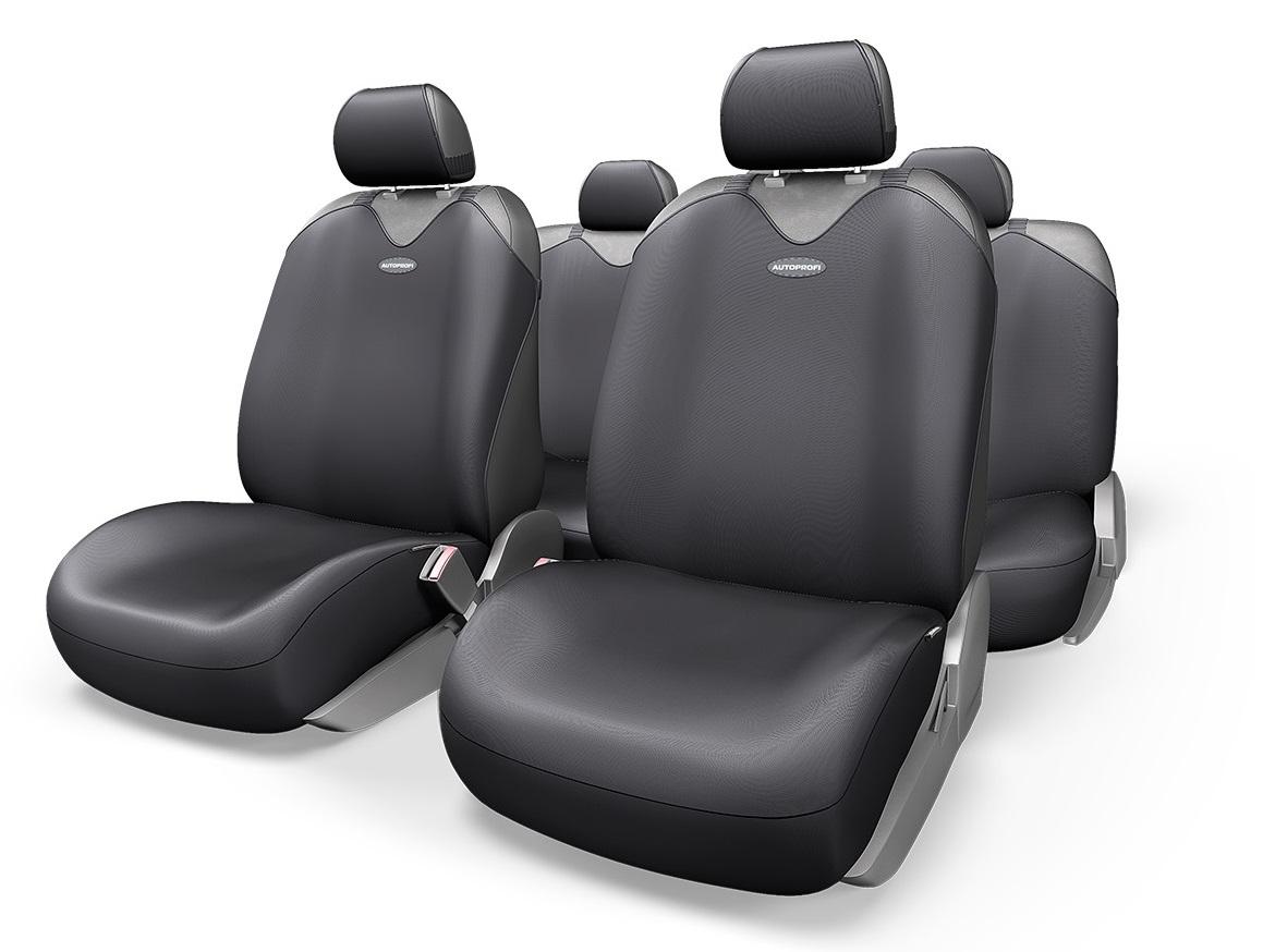 Чехол на сиденье Autoprofi R-902p bk чехол на сиденье autoprofi gob 1105 gy line m