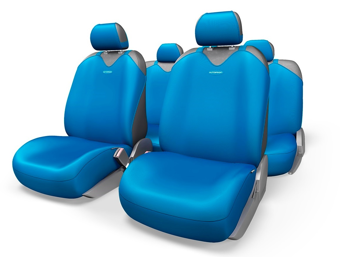 Чехол на сиденье Autoprofi R-902p bl чехол на сиденье autoprofi gob 1105 gy line m