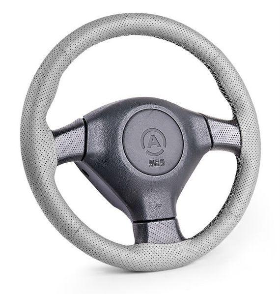 Оплетка Autoprofi Sam-201 gy (m) оплетки на руль autoprofi оплётка для перетяжки руля sam 300 croco be m