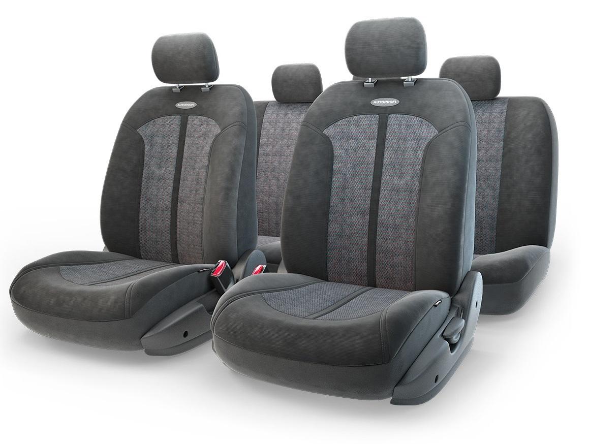 Чехол на сиденье Autoprofi Sel-1105 bk/bk (m) чехол autoprofi extra comfort black dark grey eco 1105 bk d gy m