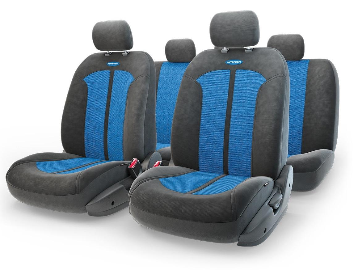 Чехол на сиденье Autoprofi Sel-1105 bk/bl (m) чехол на сиденье autoprofi mtx 1105 bk d gy m