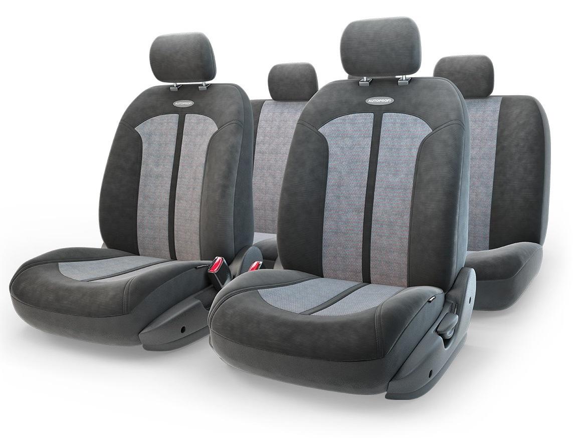 Чехол на сиденье Autoprofi Sel-1105 bk/d.gy (m) чехол на сиденье autoprofi mtx 1105 bk d gy m