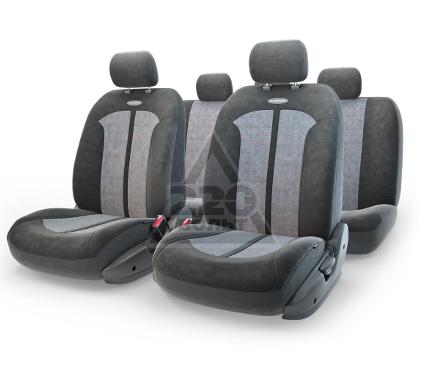 Чехол на сиденье AUTOPROFI SEL-1105 BK/D.GY (M)
