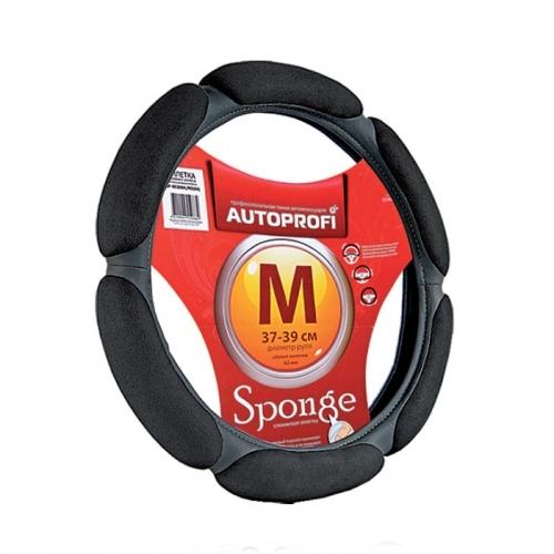Оплетка Autoprofi Sp-5026 bk (s) чехлы на сиденье autoprofi r 1 sport plus black r 902p bk