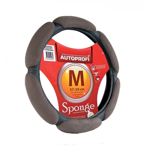 Оплетка Autoprofi Sp-5026 d.gy (m) чехол на сиденье autoprofi mtx 1105 bk rd m