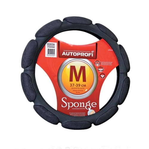 Оплетка Autoprofi Sp-9030 bk (m) оплетка autoprofi sp 9020 bk xl
