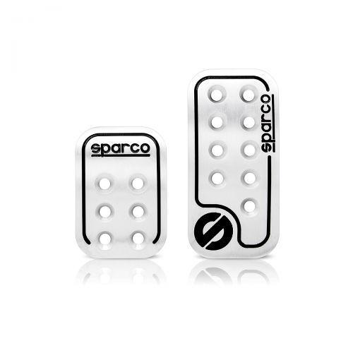 Накладка Sparco Spc/pd-rcn al/bk (2) накладки на педали sparco серия urban для мкпп алюм чёрный