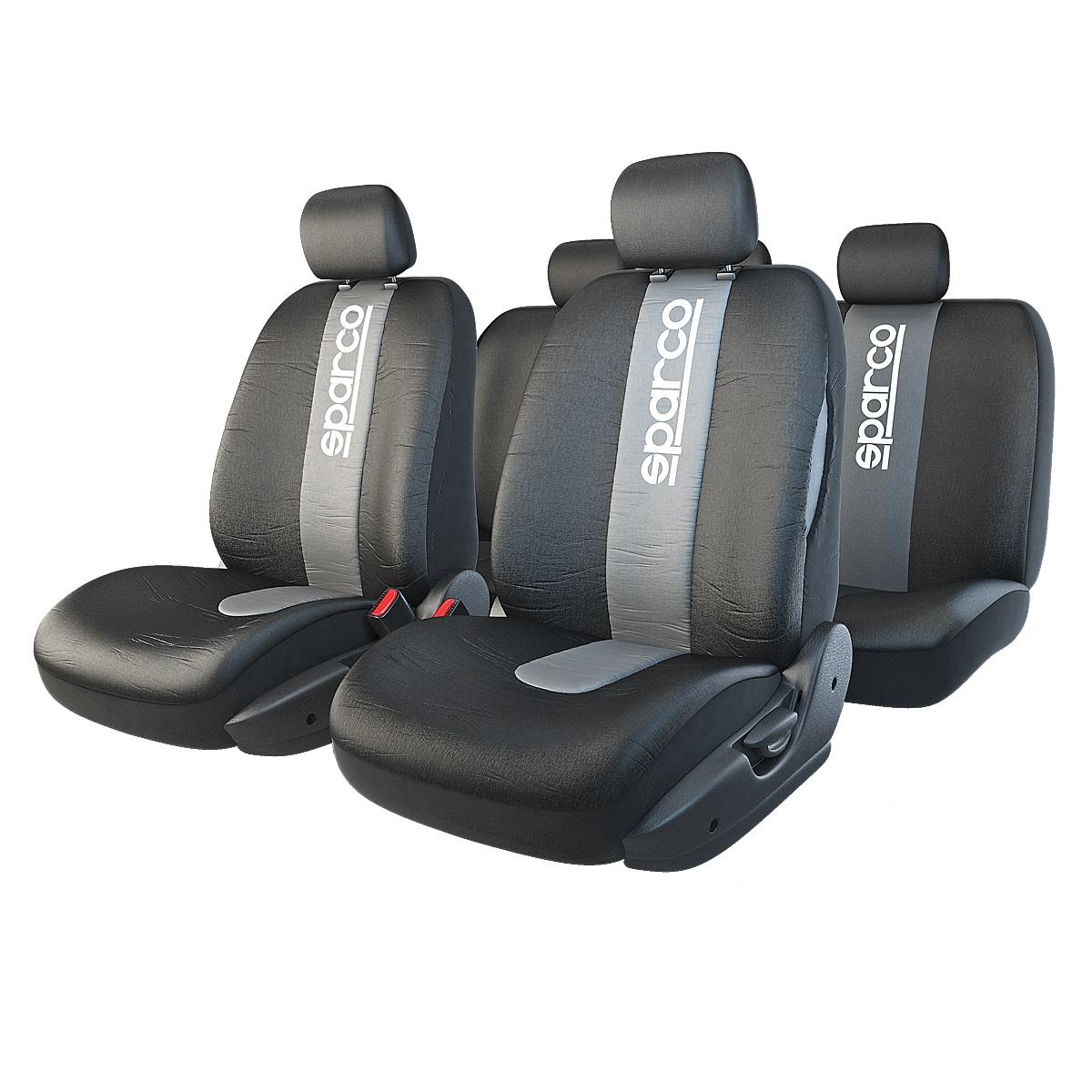 Чехол на сиденье Sparco Spc/rcn-1105 bk/gy сиденье sparco spc dk 500 bk bl