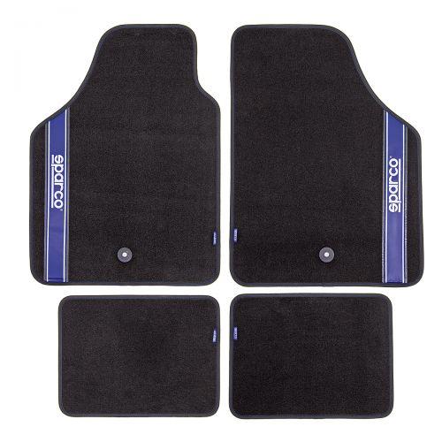 Коврики автомобильные Sparco Ter-105 bk