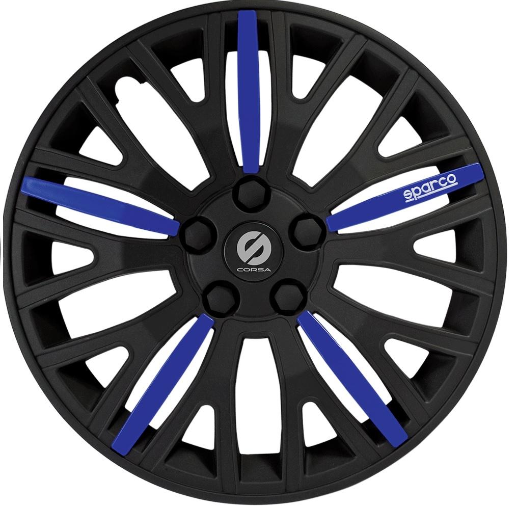 Колпаки на колёса Sparco Spc/wc-1350l bk/bl (13) сиденье sparco spc dk 500 bk bl