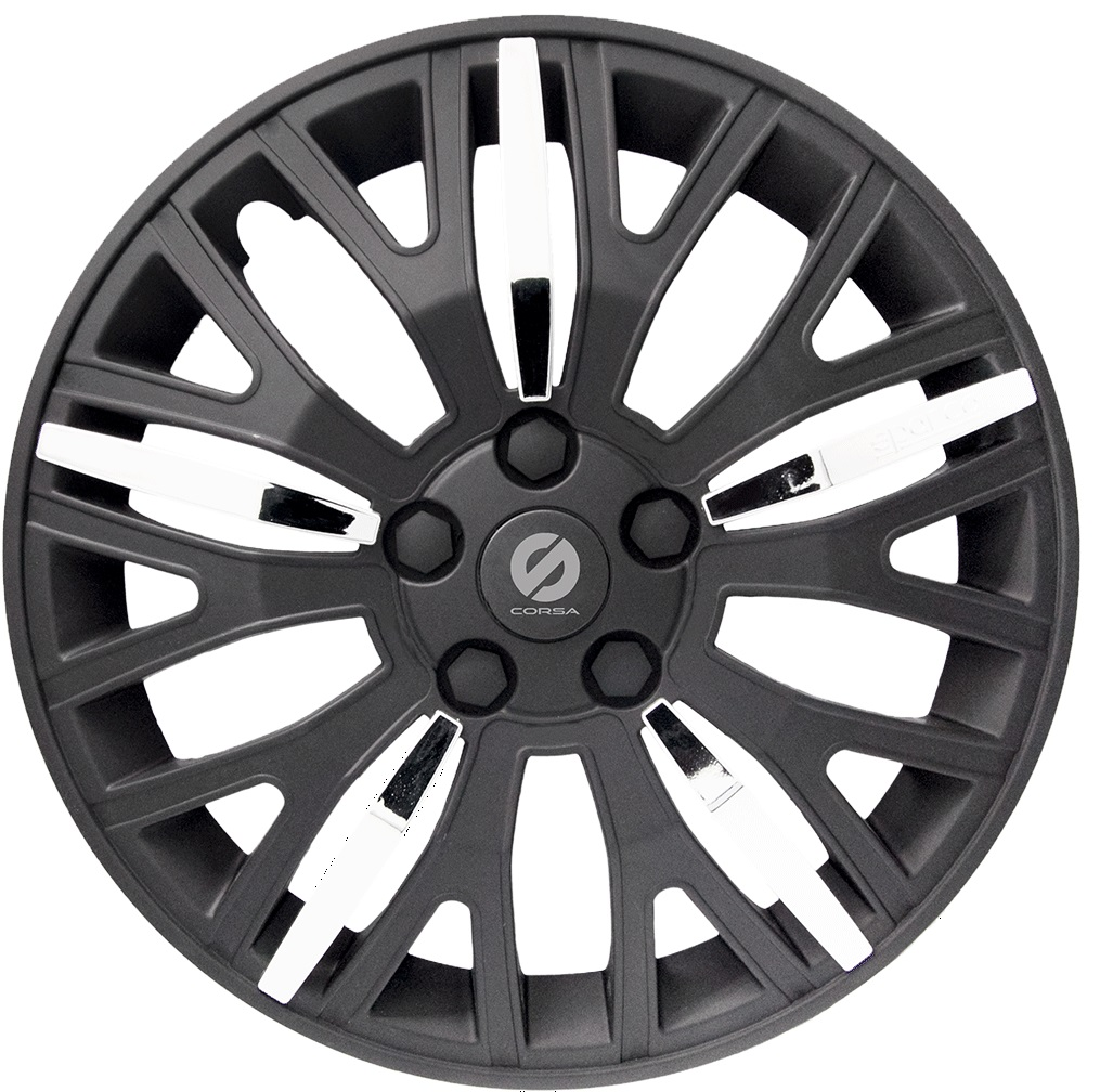 Колпаки на колёса Sparco Spc/wc-1350l bk/chrome (13)