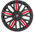 Колпаки на колёса SPARCO SPC/WC-1350L BK/RD (13)