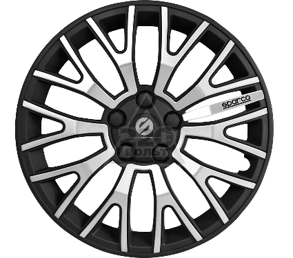 Колпаки на колёса SPARCO SPC/WC-1350U BK/SILVER (15)