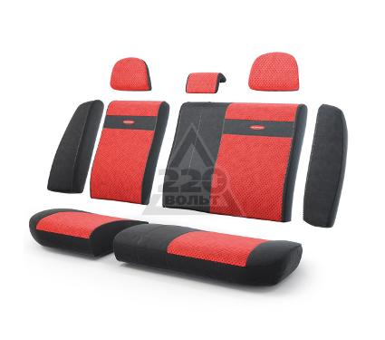 Чехол на сиденье AUTOPROFI TRS-002 BK/RD
