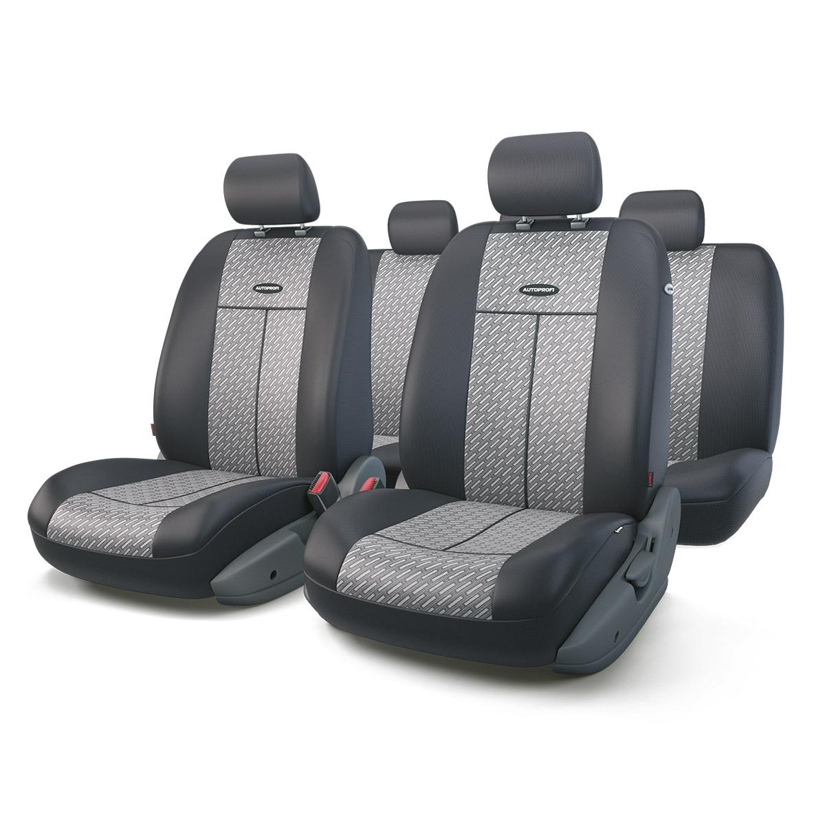 Чехол на сиденье Autoprofi Tt-902j steel чехлы на сиденья autoprofi автомобильные чехлы tt tt 902m bk bl