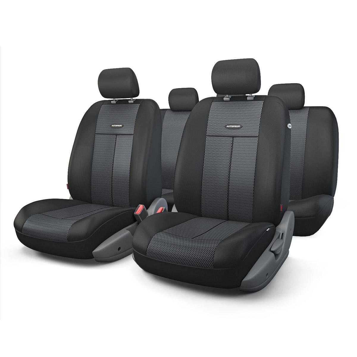 Чехол на сиденье Autoprofi Tt-902m bk/bk аксессуары для автомобиля autoprofi автомобильные чехлы tt airbag tt 902m 9 предметов