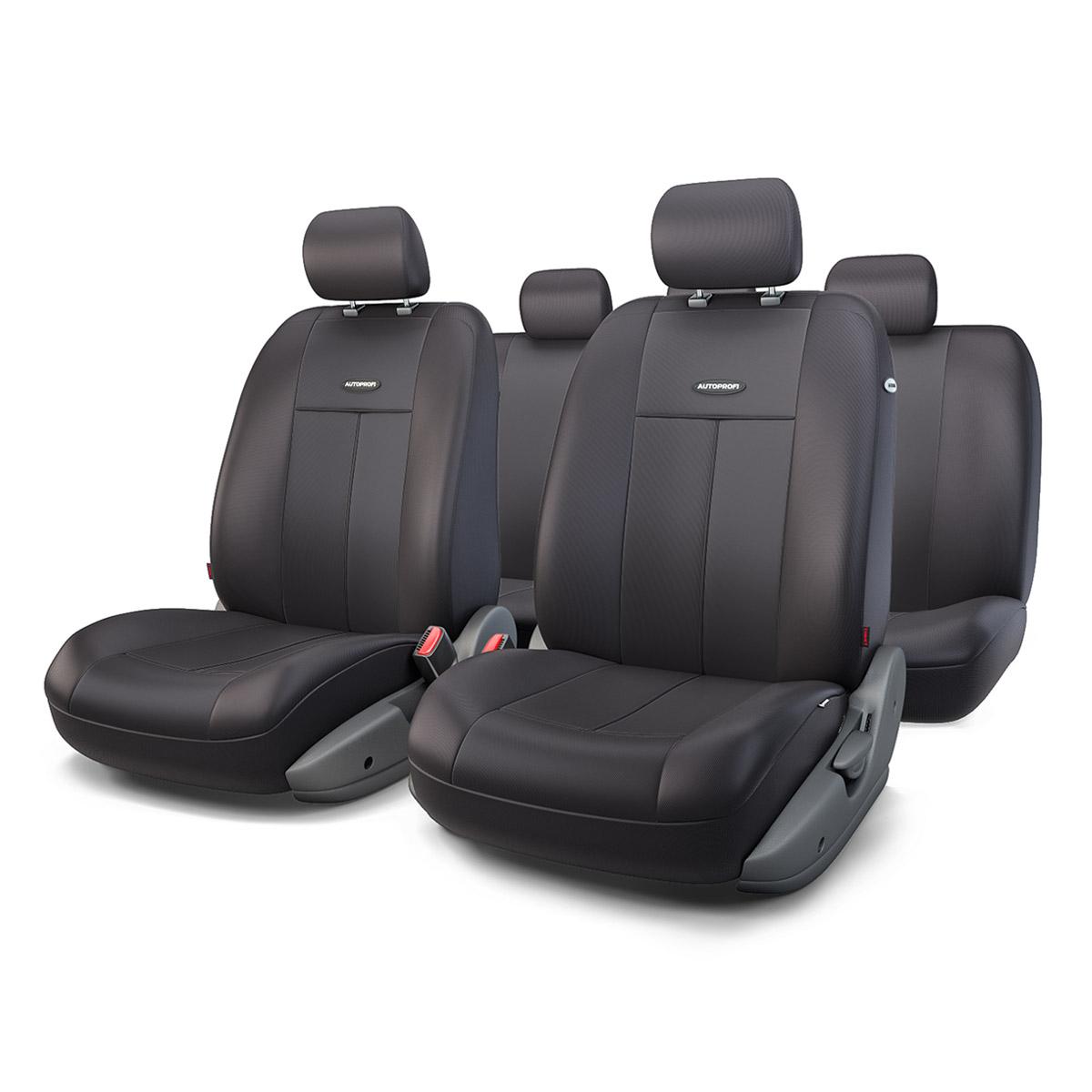 Чехол на сиденье Autoprofi Tt-902p bk/bk чехлы на сиденья autoprofi автомобильные чехлы tt tt 902m bk bl