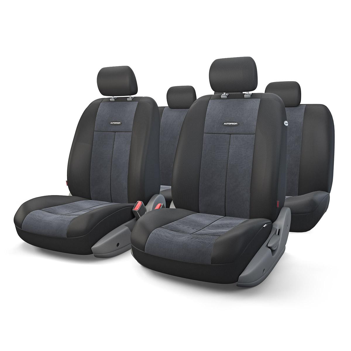 Чехол на сиденье Autoprofi Tt-902v bk/bk чехлы на сиденья autoprofi автомобильные чехлы tt tt 902m bk bl