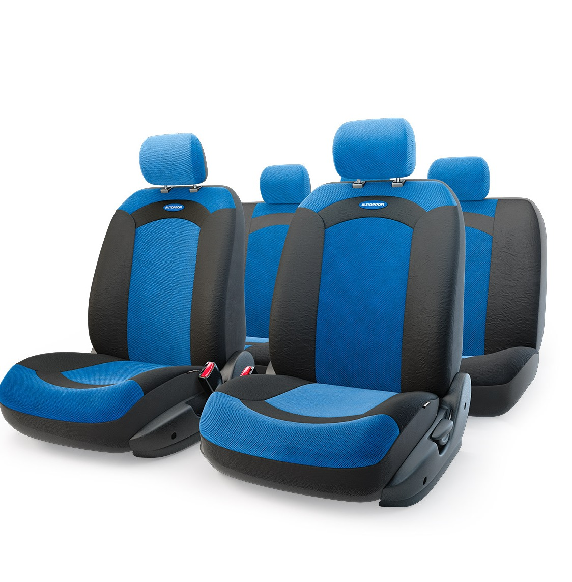Чехол на сиденье Autoprofi Xtr-803 bk/bl (m)