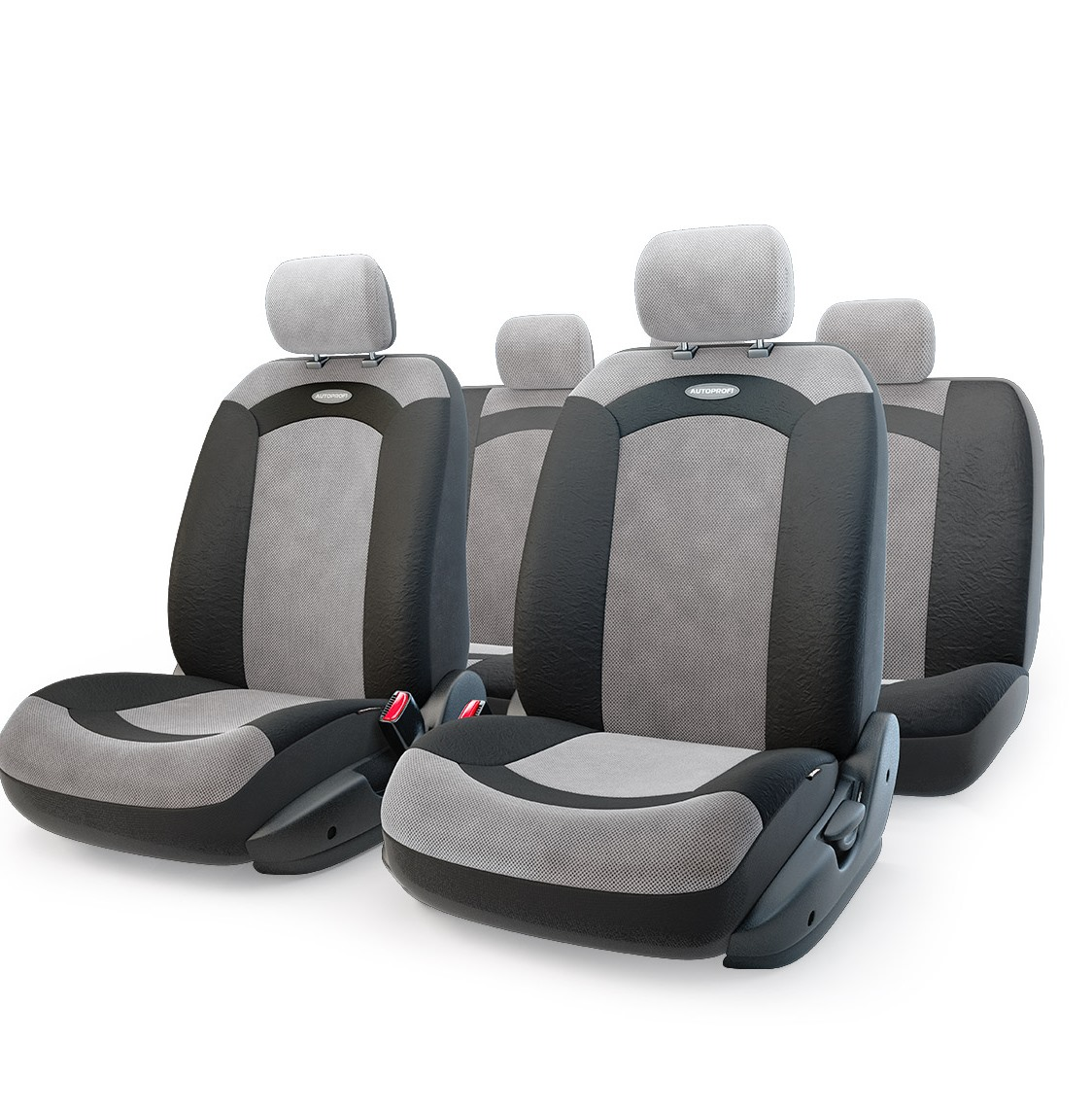 цена на Чехол на сиденье Autoprofi Xtr-803 bk/gy (m)